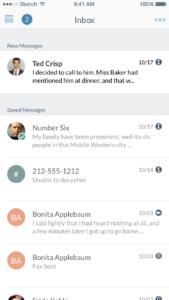 SmartOffice Mobile - Inbox